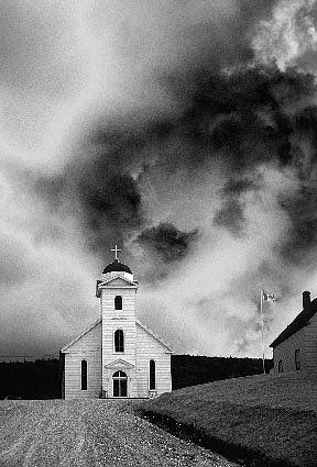 Nova Scotia Church Photograph by Peter Delis