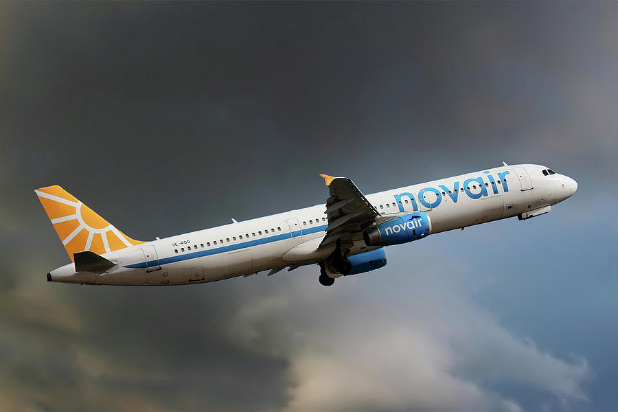 Airbus Photograph - Novair Airbus A321-231 by Smart Aviation