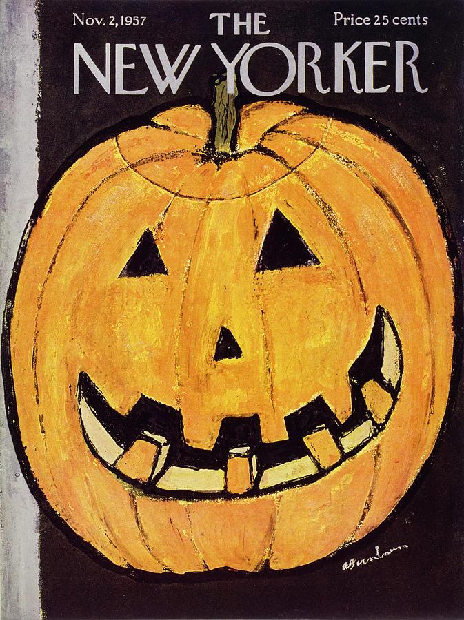 November 2 1957 Painting by Abe Birnbaum