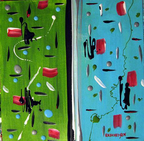 November 2 2009 Painting by Michael Raucheisen