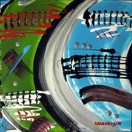 November 6 2009 Painting by Michael Raucheisen