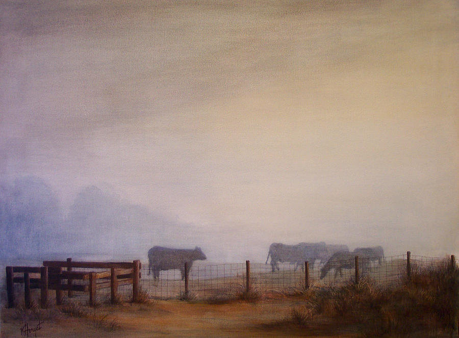Ladner Painting - November Dawn by Victoria Heryet