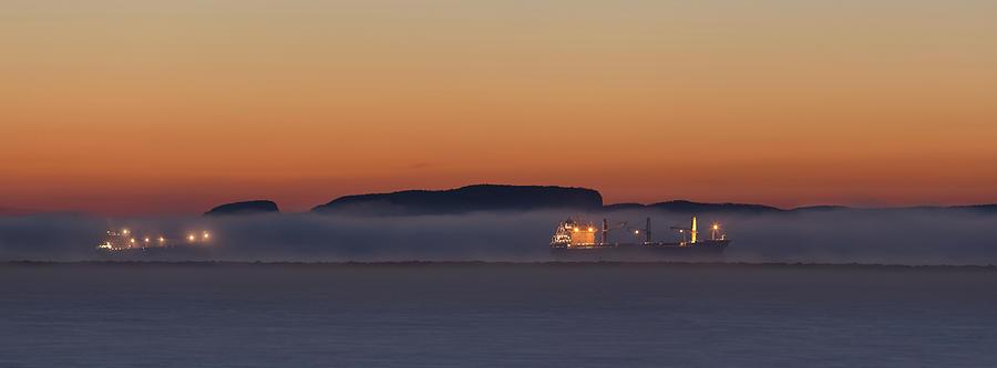 Boat Photograph - November Morning At The Marina by Jakub Sisak