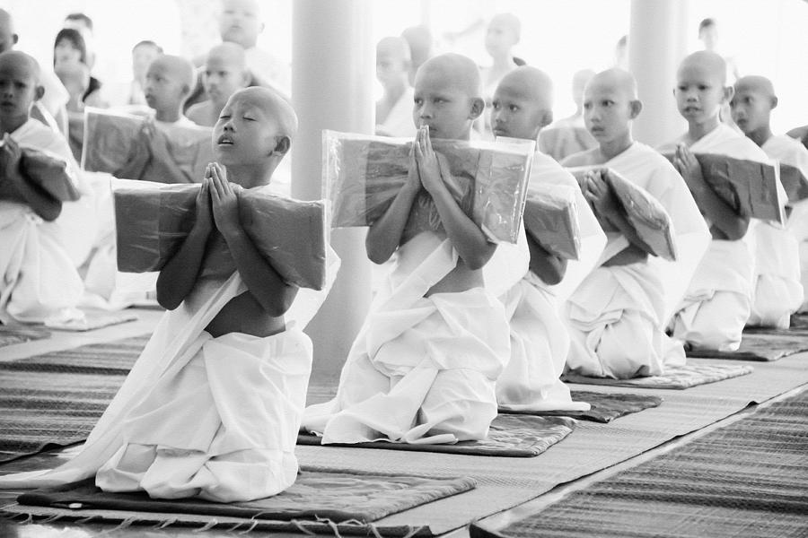 Limited Edition Novice Monks by Lee Craker