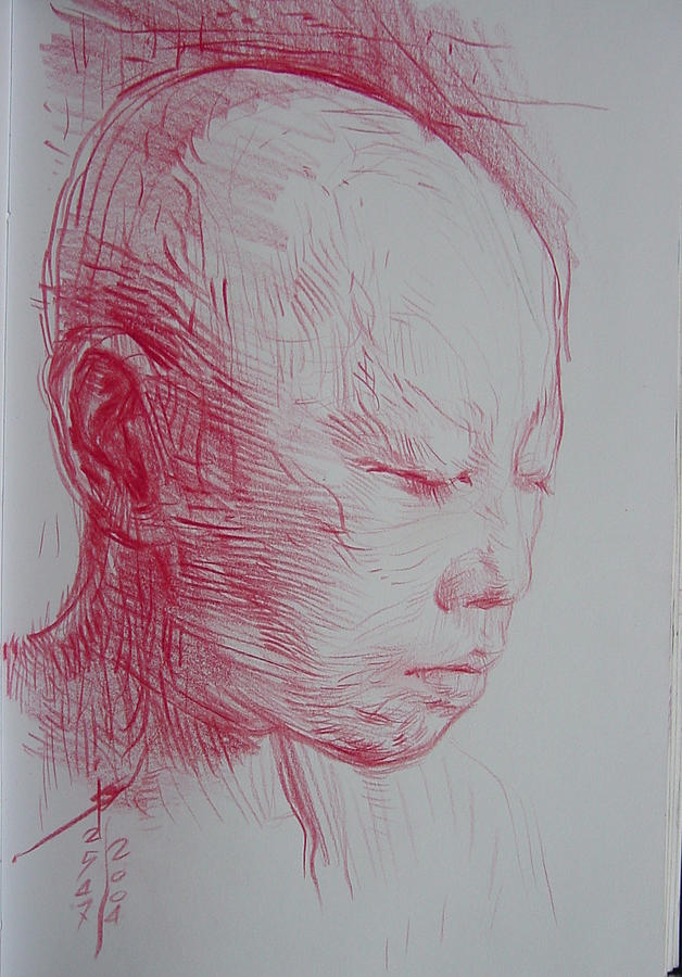 Novice Drawing by Rungsak Dokbua