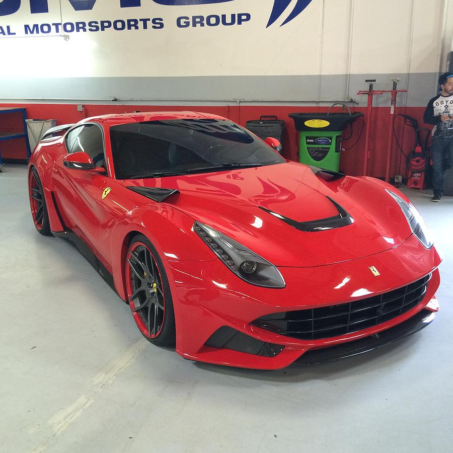 Novitec Rosso Ferrari F12 N Largo By Mag Autosport