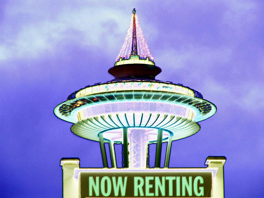 Seattle Photograph - Now Renting by Tim Allen