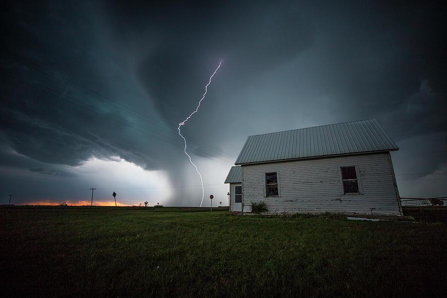 Sky Photograph - Nowhere To Run by Aaron J Groen