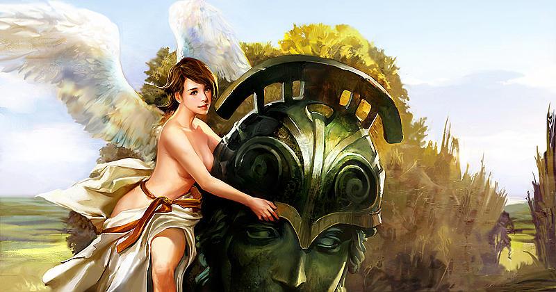 Goddess Digital Art - NOX by Aki Tcc