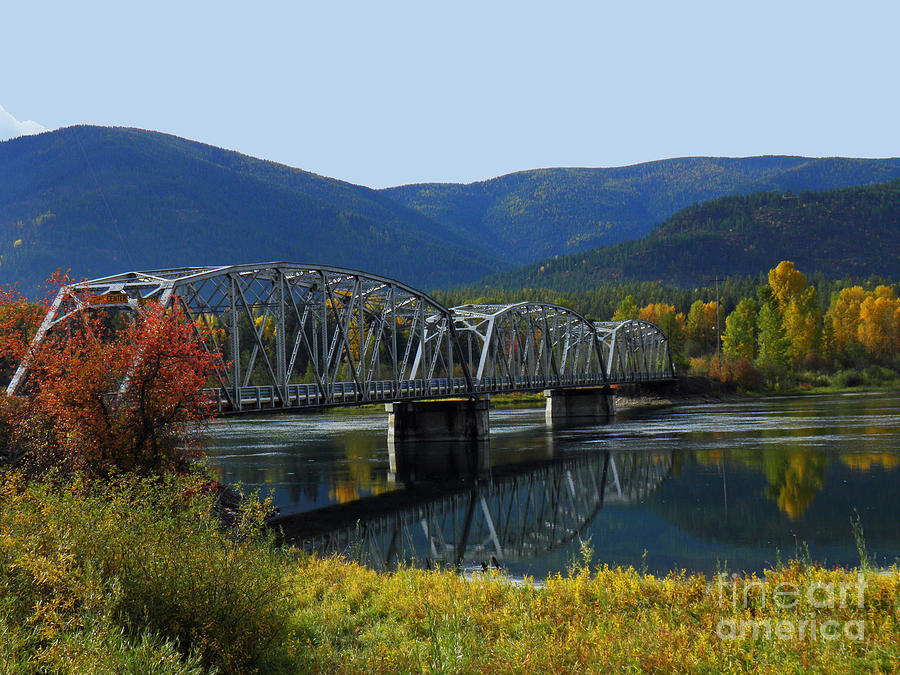 Noxon Montana Photograph - Noxon Bridge by Tonya P Smith