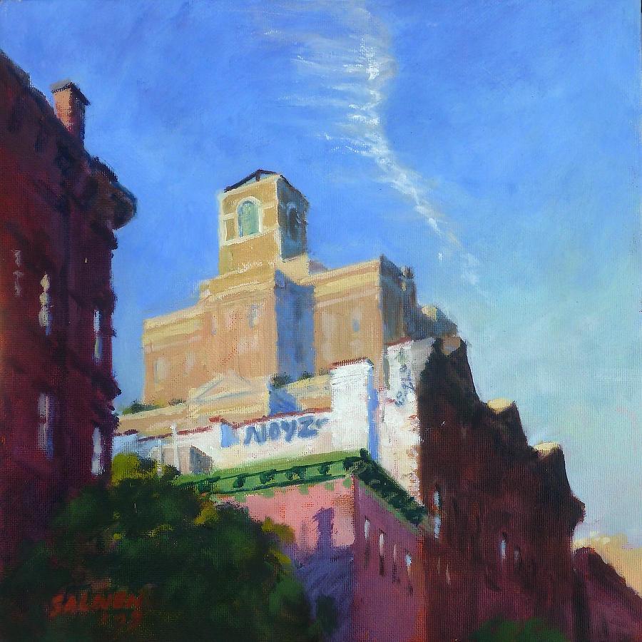 Landscape Painting - Noyz by Peter Salwen