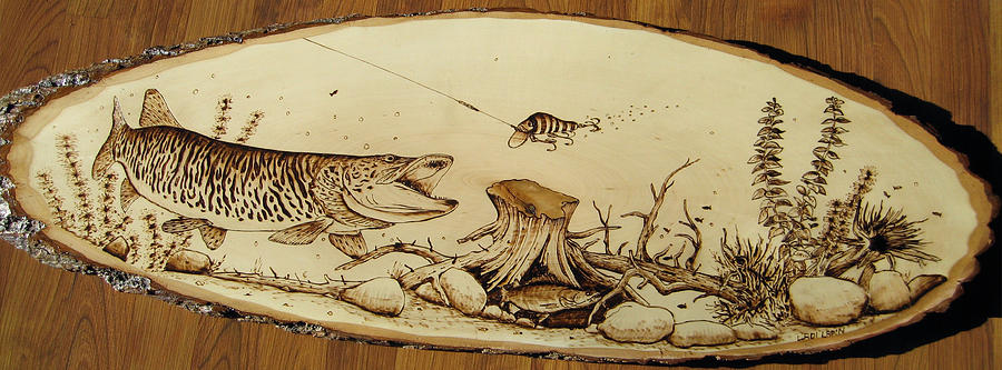 Water Pyrography - Nr13 by Ladi and Jane   Lapin