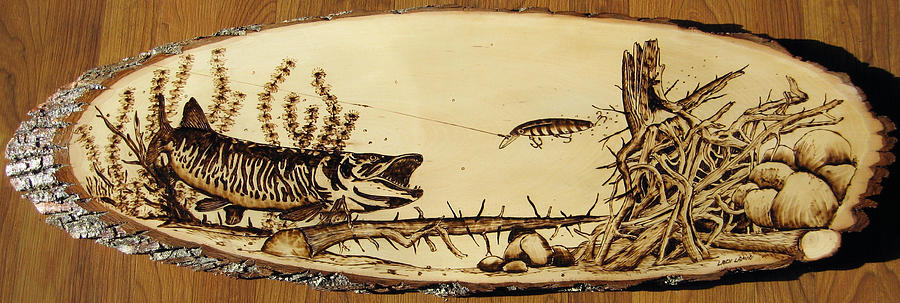 Water Pyrography - Nr18 by Ladi and Jane   Lapin