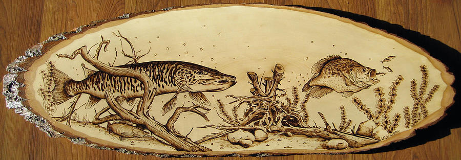Water Pyrography - Nr19 by Ladi and Jane   Lapin