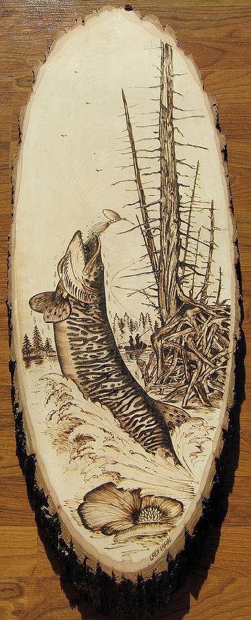 Water Pyrography - nr4 by Ladi and Jane   Lapin