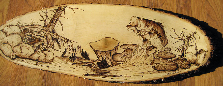 Water Pyrography - nr9 by Ladi and Jane   Lapin