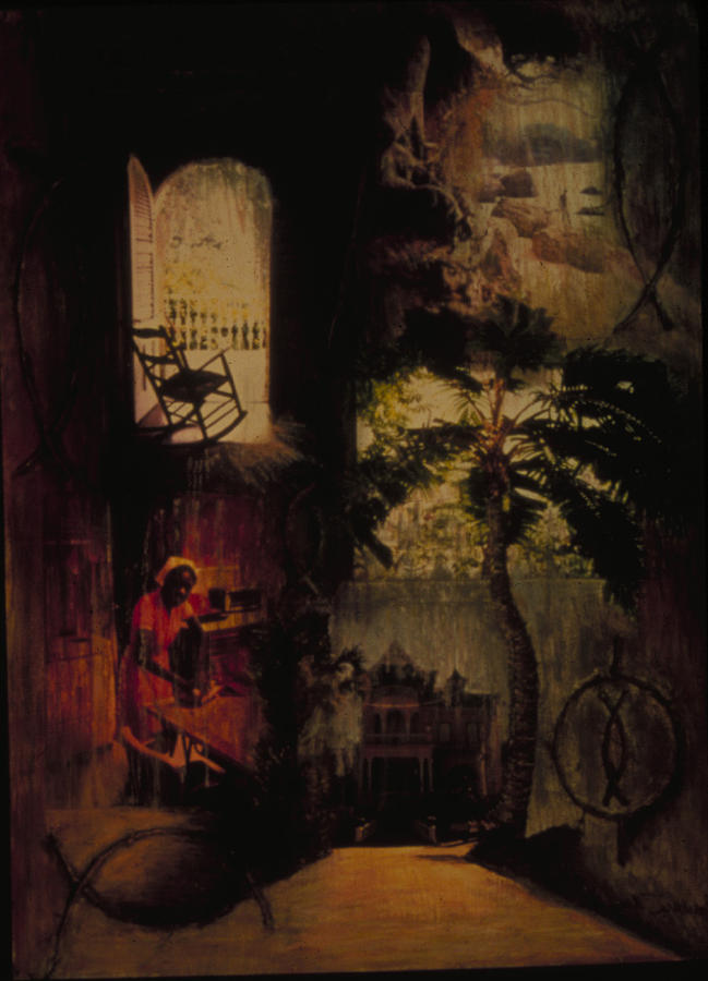 Haiti Painting - Nsbidi Of Harmony by Barbara Nesin