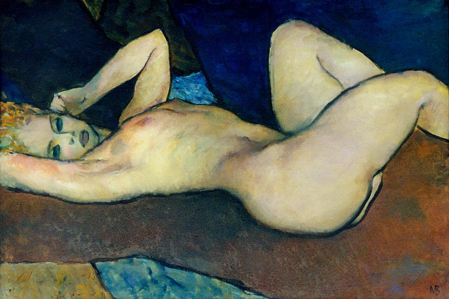 Nude Painting - Nu 1 by Valeriy Mavlo