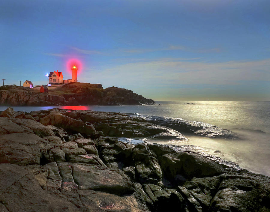 Nubble Light 457 Photograph