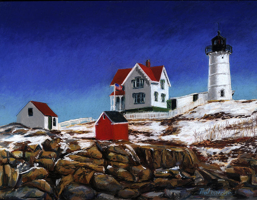 Nubble Light by Paul Gardner