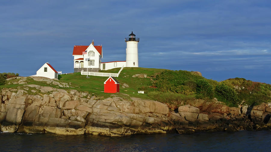 Nubble Lighthouse by Ginger Wakem