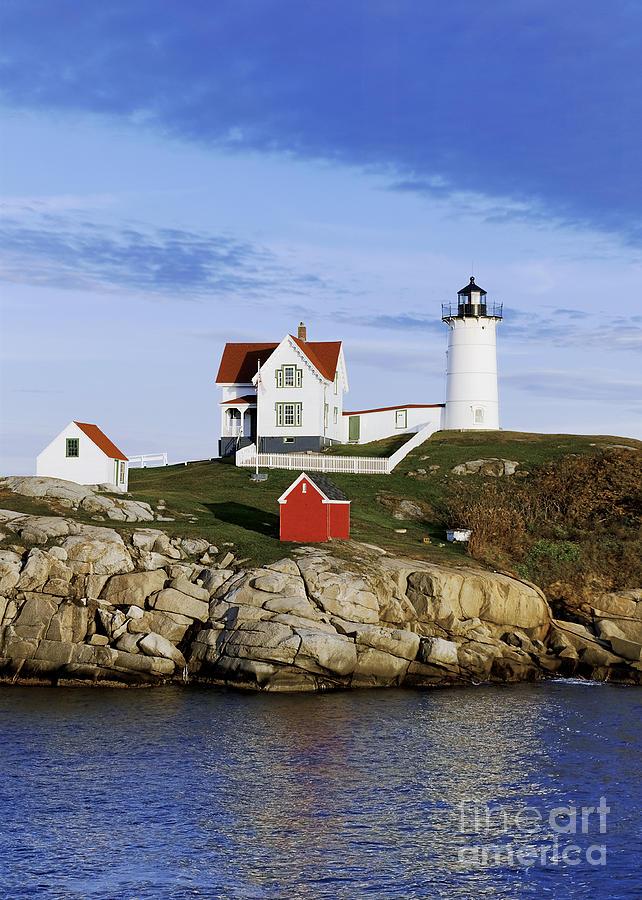 Maine Photograph - Nubble Lighthouse by John Greim