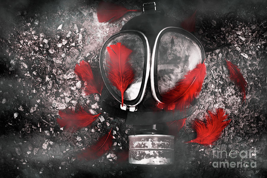 Gasmask Photograph - Nuclear Smog by Jorgo Photography - Wall Art Gallery