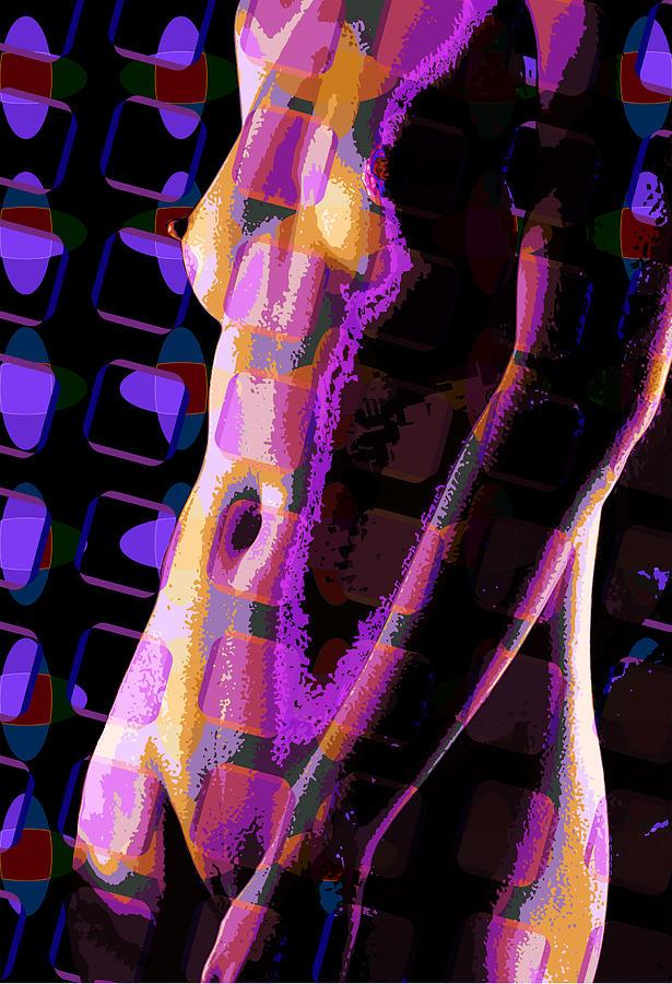 Nude Digital Art - Nude 12 by Scott Davis