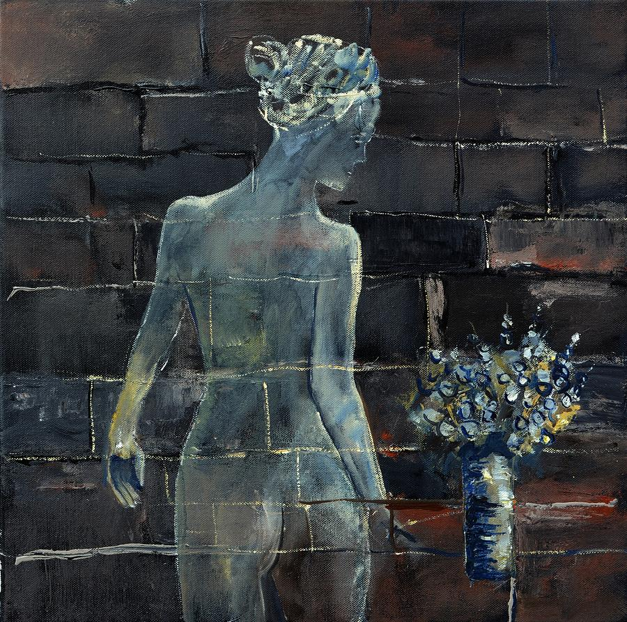 Nude Painting - Nude 555160 by Pol Ledent