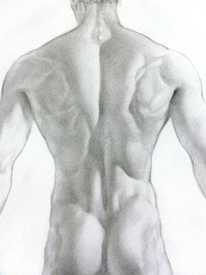 Nude Drawing - Nude 7a by Valeriy Mavlo