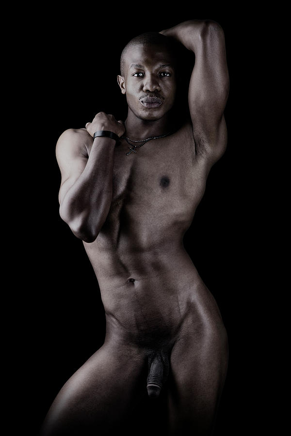 Nude African Man Photograph By Raw Afrika Photography-2966