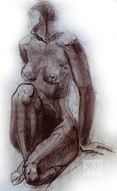 Nude Pastel - Nude by Anastasia Ponyatovskaya