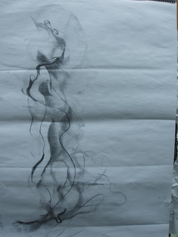 Nude Drawing - Nude Drawing 1 by Better Than Medo