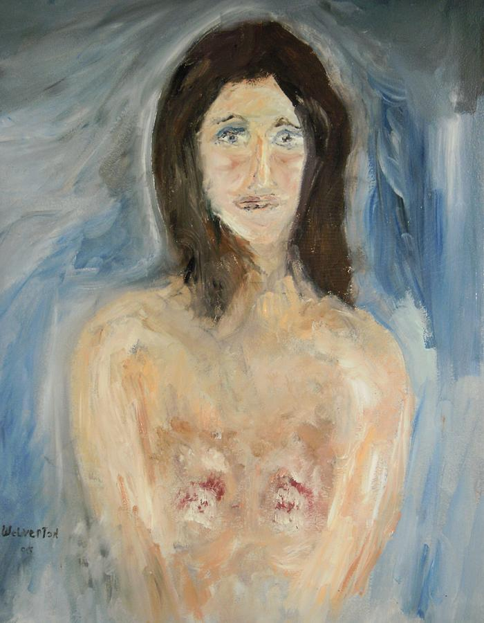 Nude Painting by Edward Wolverton