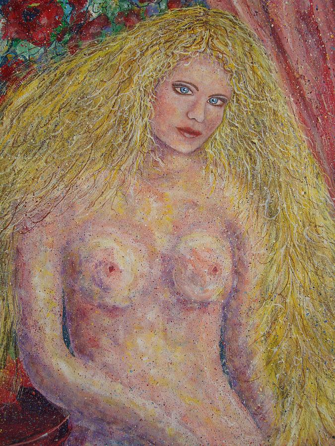 Nude Painting - Nude Fantasy by Natalie Holland