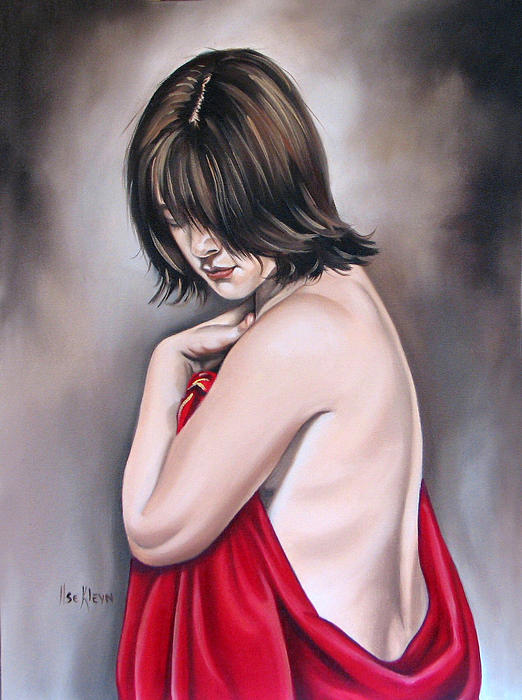Nude Painting - Nude Hundred And Two Of Seven by Ilse Kleyn