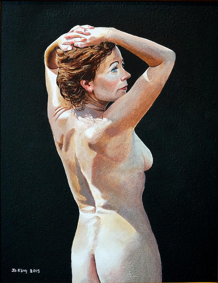 Nude Painting - Nude In Sunlight by Jo King