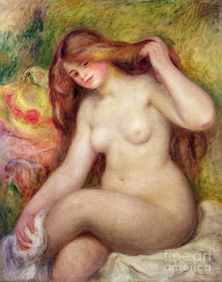 Nude Painting - Nude by Renoir