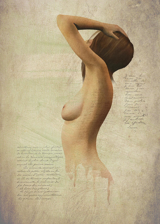 Nude silhouette by Jan Keteleer
