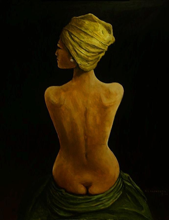 Nude Painting - Nude Study  by Richard Klingbeil