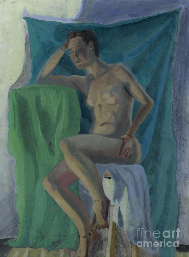 Painting Painting - Nude  by Timothy Winiarski