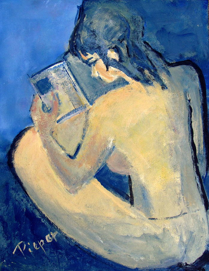 Nude with Nose in Book by Betty Pieper