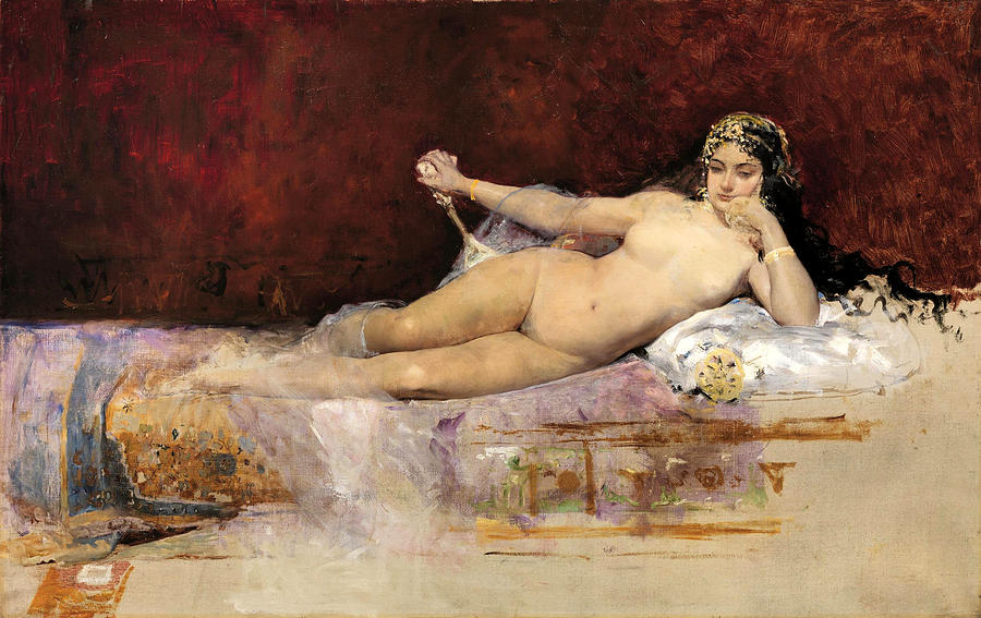 Greek Woman Paintings