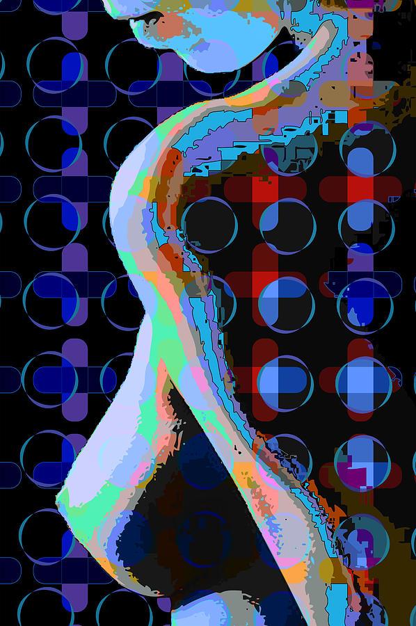 Nude Digital Art - Nude3 by Scott Davis