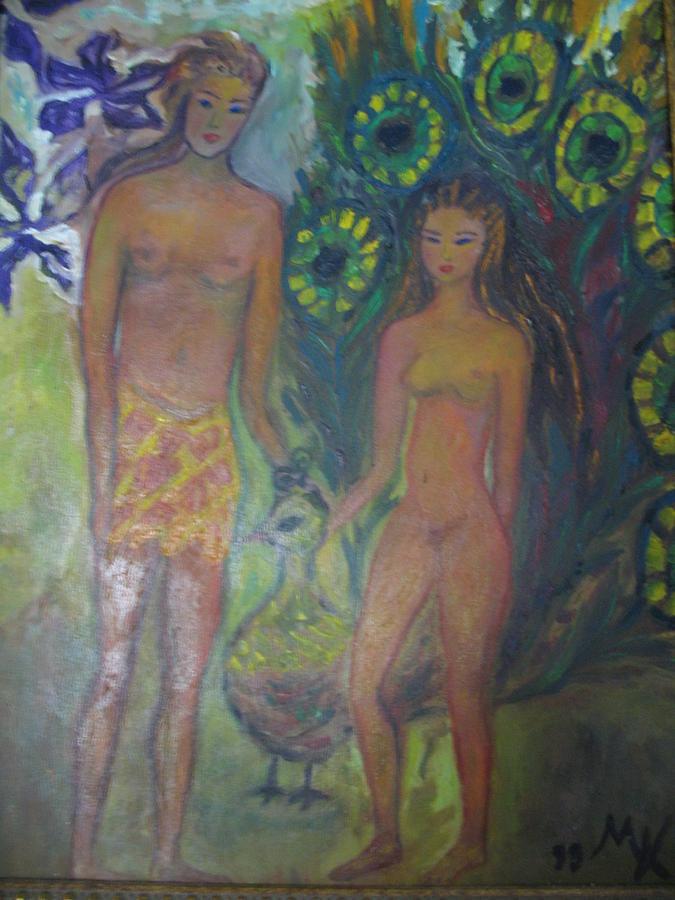 American Painting - Nudes Elation by Maria  Kolucheva