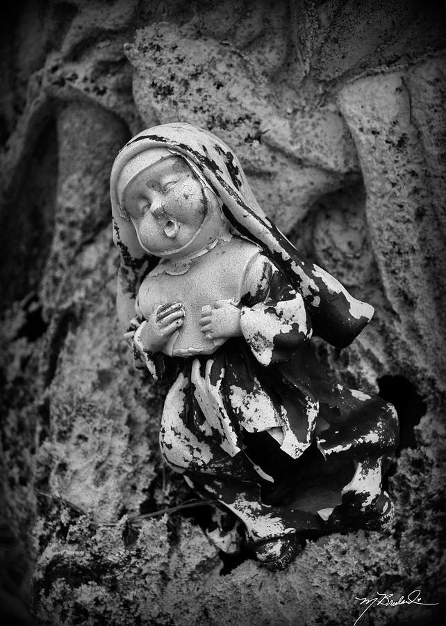 Nun Photograph - Nun Of Your Business by Melissa Wyatt