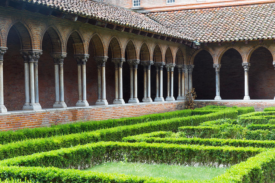 Arches Photograph - Nunnery Insde Eglise Des Jacobins Or Church Of The Jacobins by Semmick Photo