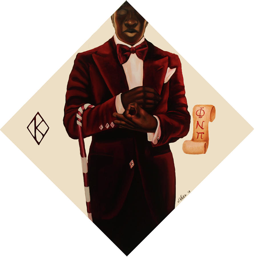 Nupe Painting - Nupe by Jerome White