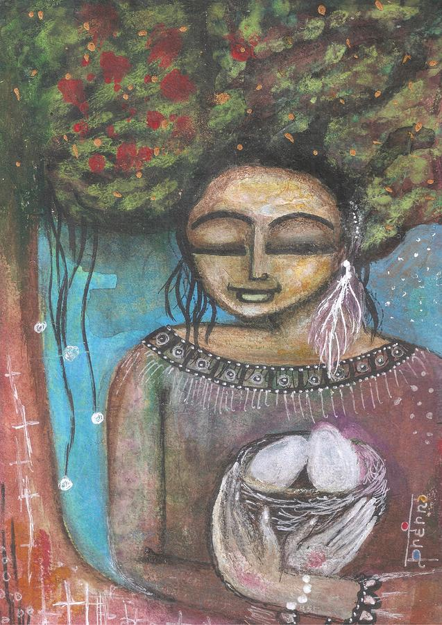 Nature Mixed Media - Nurture Nature by Prerna Poojara