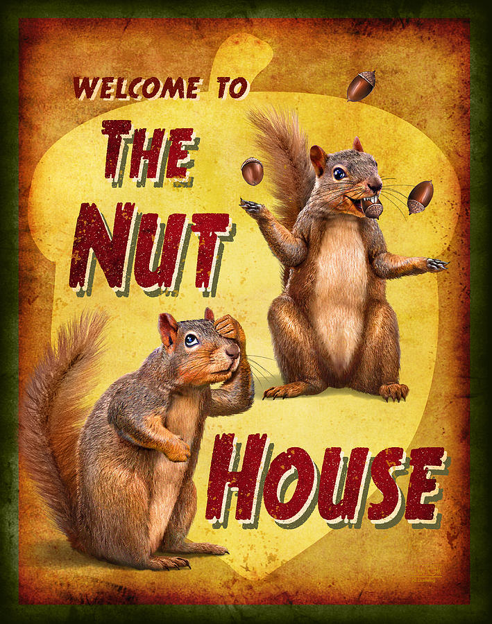 Wildlife Painting - Nuthouse by JQ Licensing